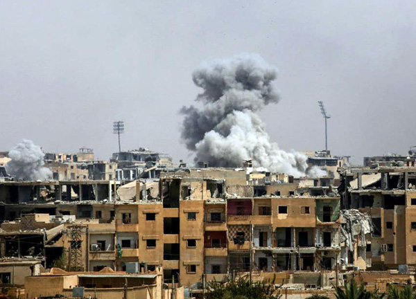sYRIA BOMBS
